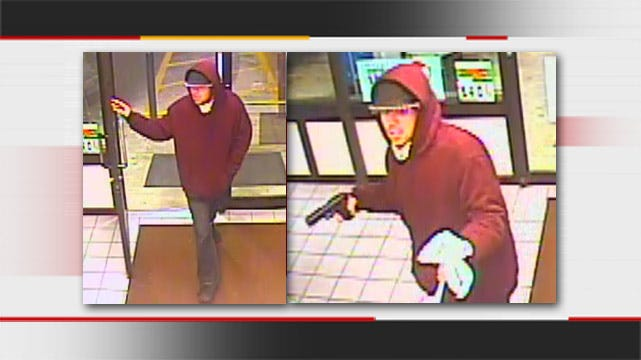 Tulsa Police Looking For Gunman Who Stole Money, Cigarettes