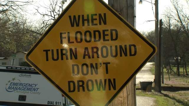 Okmulgee County Warns Residents To 'Turn Around, Don't Drown'