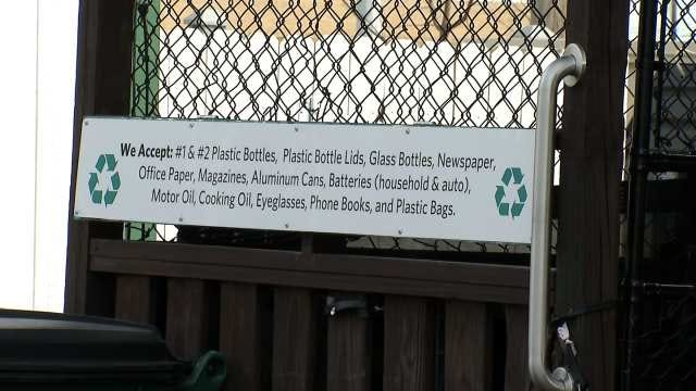 Recycling Drop-Center Opens In Downtown Tulsa