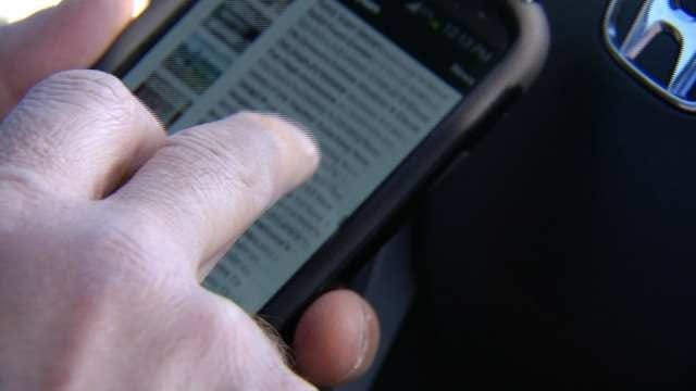 'Distracted Drivers' Increase Dangers On Oklahoma Roads