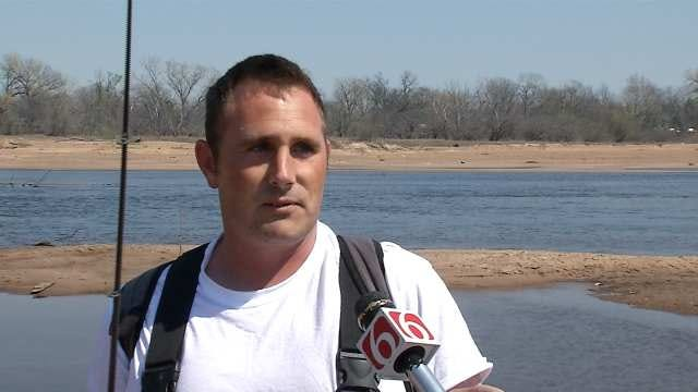 Fisherman Reels In Surprise Catch In Arkansas River