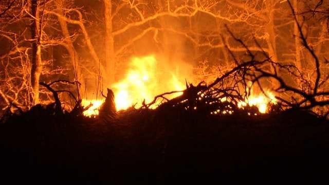 Osage County Grass Fire Brings Smell Of Smoke, Haze To Other Counties