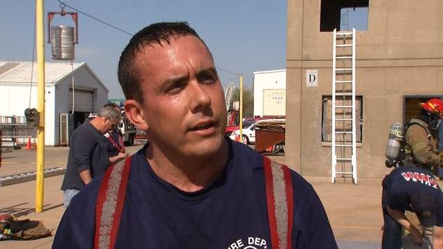 Tulsa Firefighters Testing Much-Needed Equipment