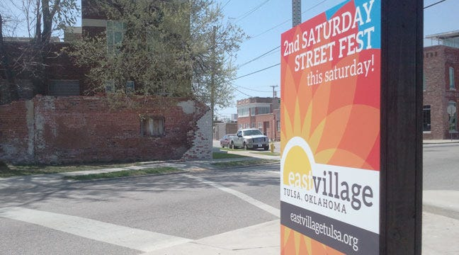 Tulsa's East Village Readies For Second Saturday Street Fest