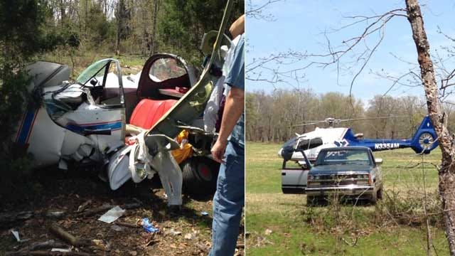 2 Flown To Hospital After Small Plane Crash Near Cookson