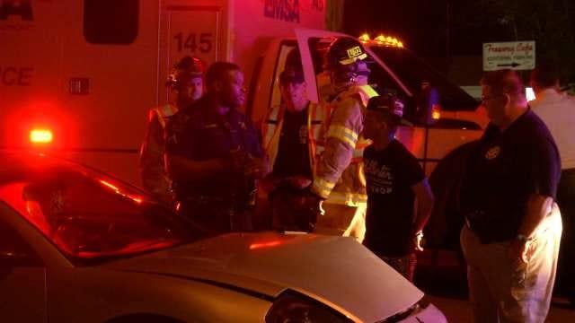 Tulsa County Sheriff's Deputy Involved In Overnight Wreck