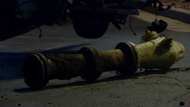 Driver Arrested After Taking Out Tulsa Fire Hydrant