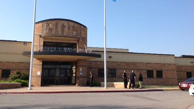 Bomb Threat Delays Classes At Tulsa's Booker T. Washington High School