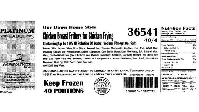 Enid Food Supplier Recalling 8,700 Pounds Of Chicken