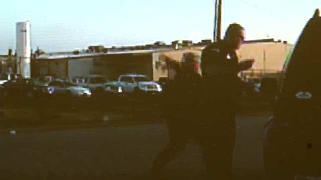Video Catches Fort Gibson Officer Stabbed By Woman With Scissors