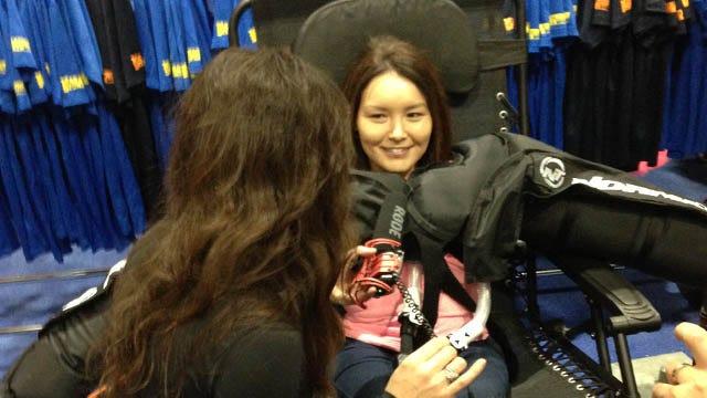Paralympian Brings Don't-Quit Spirit To Boston Marathon