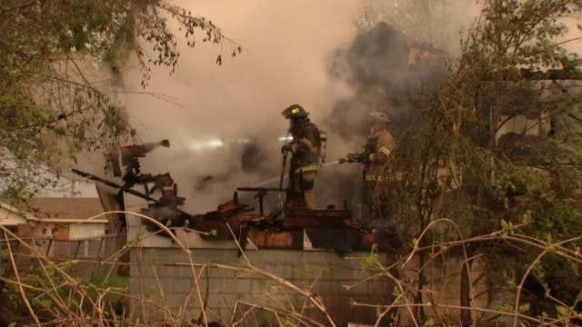 Body Discovered In North Tulsa House Fire