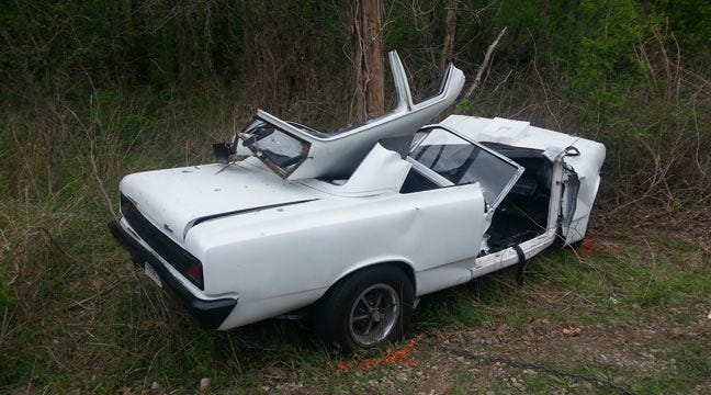 Claremore Man Dies After Wrecking Classic Muscle Car