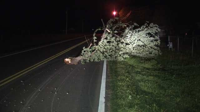 Strong Winds Cause Damage, Power Outages In Tulsa County