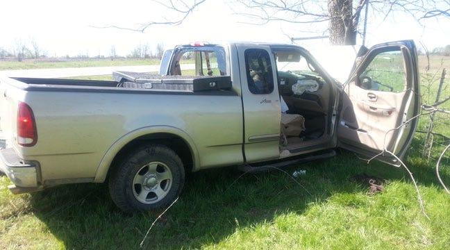 Man Dead In Pickup Truck Wreck Near Talala