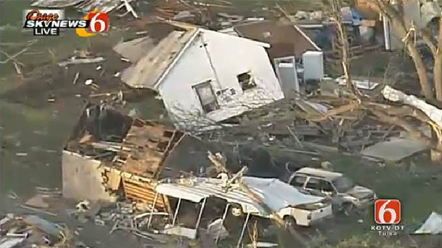 Tornado Touches Down In Quapaw, Kills 1