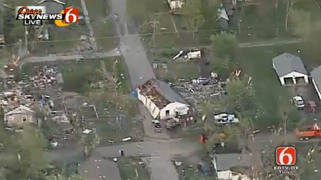 Tornado Touches Down In Quapaw, Kills 1