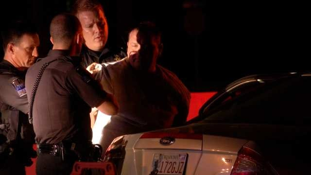 Tulsa Police Arrest Sapulpa Man After Standoff On Interstate 44