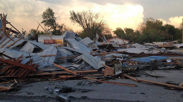 One Dead, Five Injured After Tornado Hits Quapaw