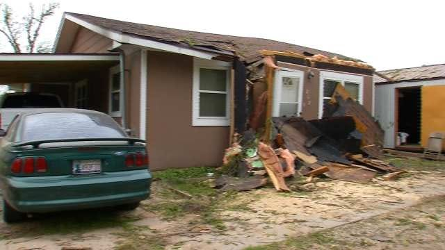 Family Affected By Picher, Joplin Tornadoes Lose Quapaw Home