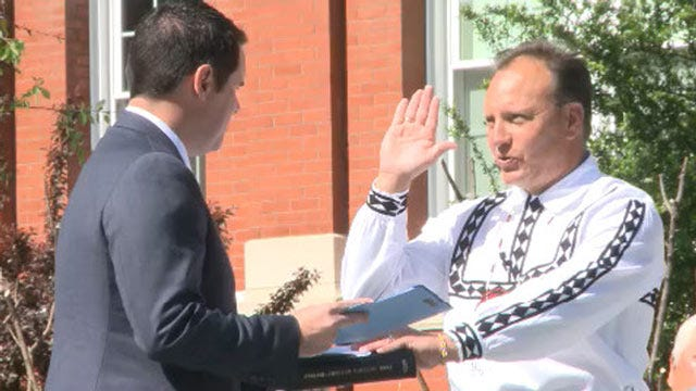Gary Batton Sworn In As New Choctaw Nation Chief
