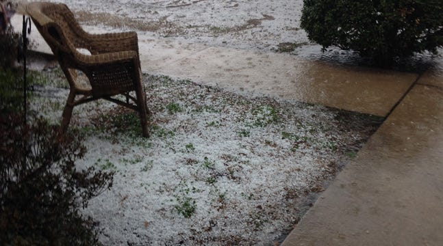 Hail Damage Reported East Of Tulsa; Tornado Watches, Flash Flood In Effect