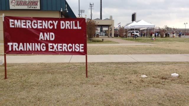 Jenks Public Schools Practice Active Shooting Scenario