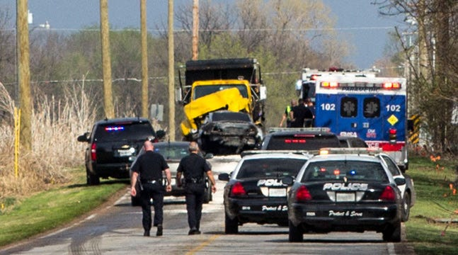 Police: AWOL Serviceman Dies In Fiery Crash After Bixby Pursuit