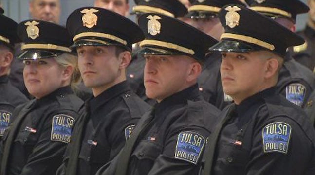16 Cadets Graduate From Tulsa Police Academy