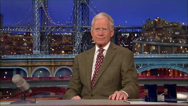 David Letterman Retiring From The 'Late Show' In 2015