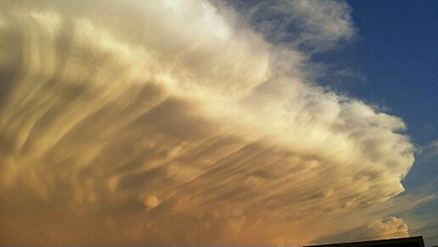 Storms Put On Picturesque Show In Northeast Oklahoma