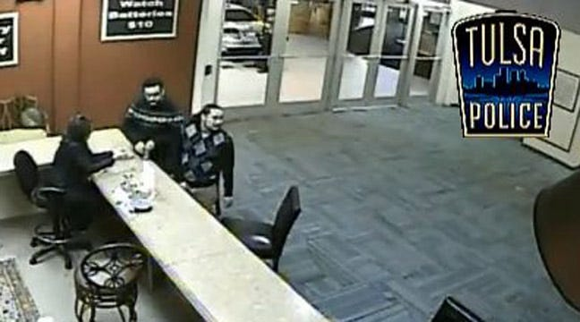 Tulsa Police: Two Men Steal $20K From 'Cash For Gold' Store