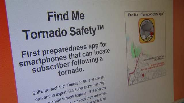 Tulsa Woman Creates App To 'Find You' During Severe Weather
