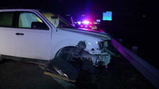 Claremore Man Arrested After Wrecking His SUV