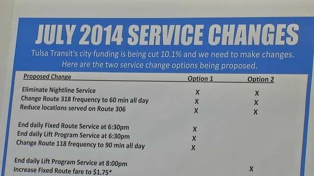 City Budget Cuts Hit Tulsa Transit Services