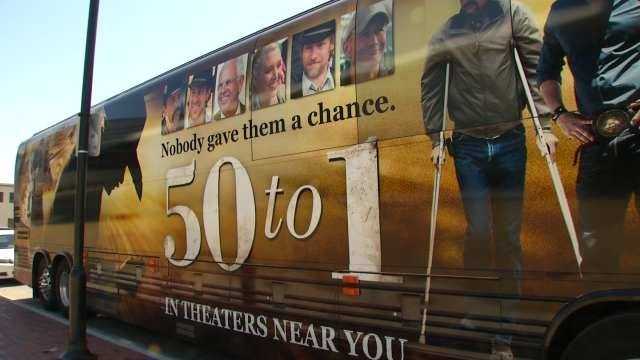 Actors, Producers Of '50 To 1' Film Visit Guthrie Green