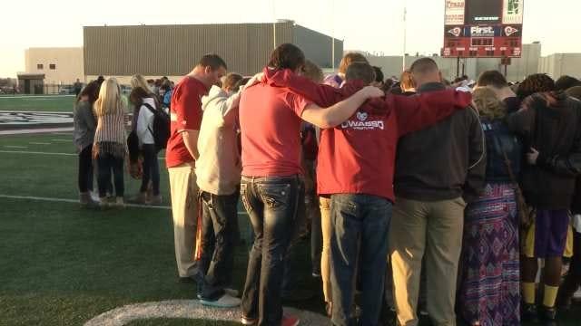 Prayer Vigil Held For Owasso Teen Badly Hurt In Car Wreck