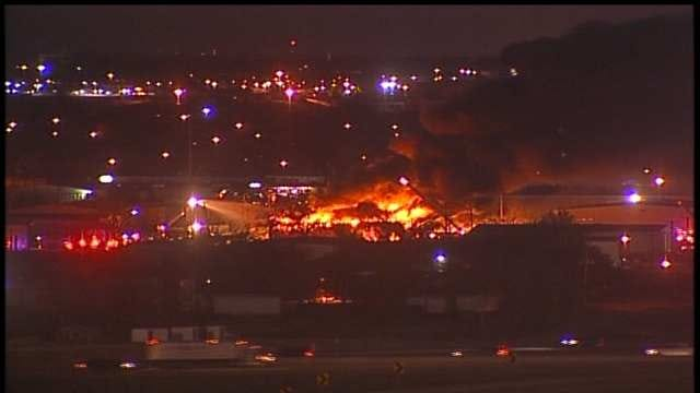Tulsa Building Explodes; Women Nearby Rescue Trapped Man