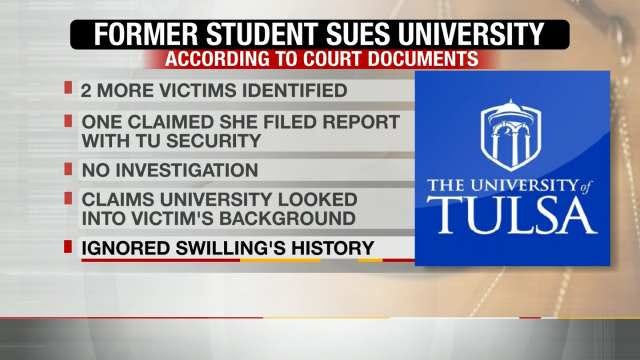 Former TU Student Claims School Didn't Take Sexual Assault Report Seriously