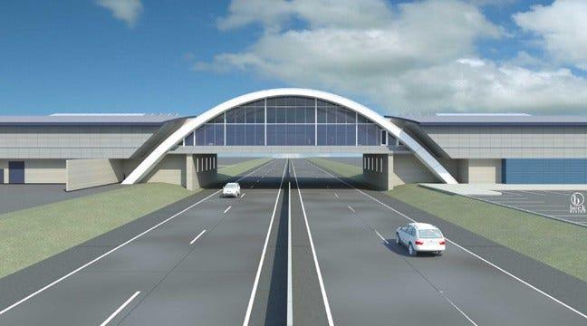 Vinita Service Plaza On I-44 Renamed 'Will Rogers Archway'