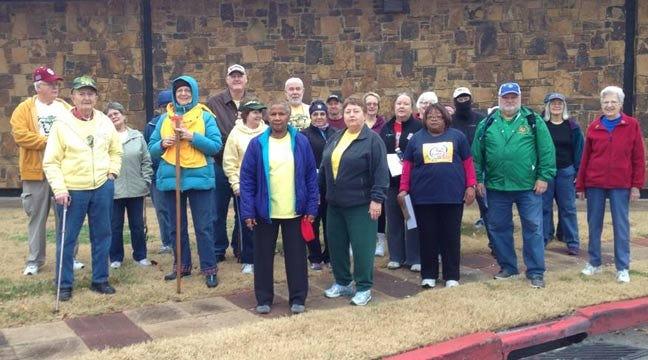 Tulsa Walking Club Hosts 10-11-12-13-14 Event At LaFortune Park