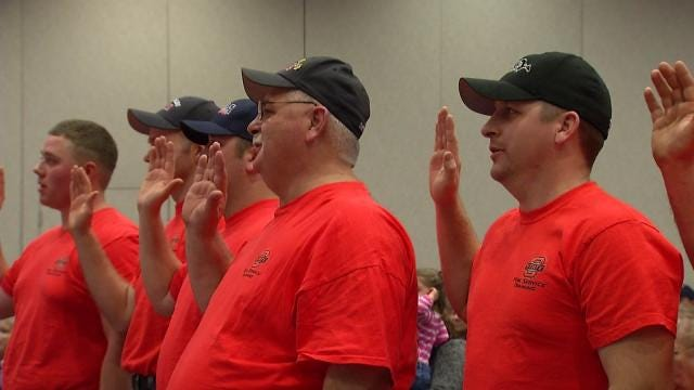 Volunteer Firefighters Go Above And Beyond To Serve Oklahoma Communities