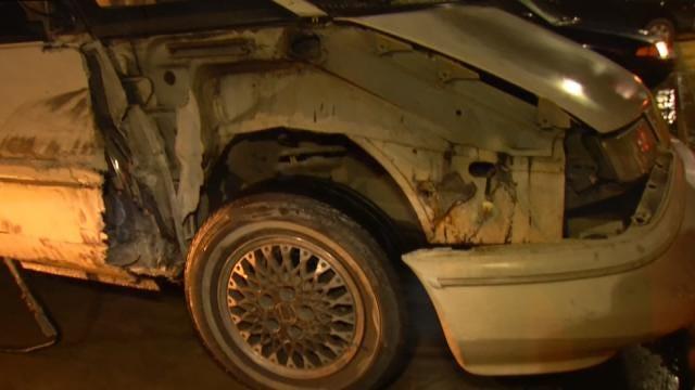 Semi Damages Van On Tulsa Highway, Keeps Going