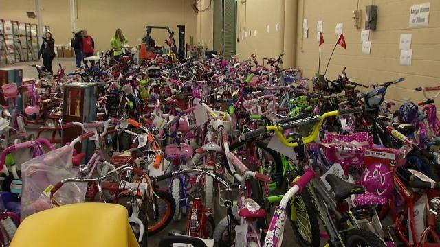 Angel Tree Gifts Provide Merry Christmas To Oklahoma Families