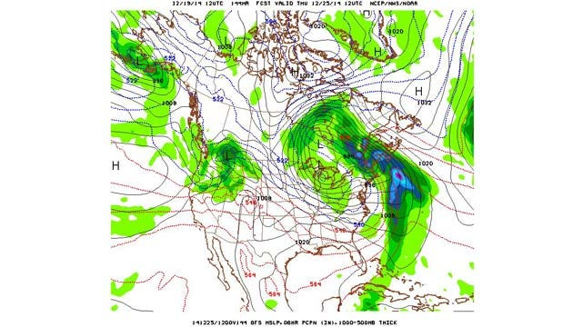 Dick Faurot's Weather Blog: So Far a Dreary December; Any Sunshine for the Weekend?