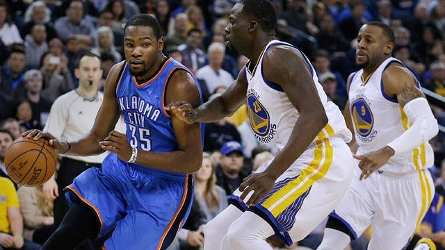 Thunder's Winning Streak Snapped After Loss To Warriors