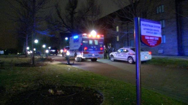 Woman Crashes Car On University Of Tulsa Campus