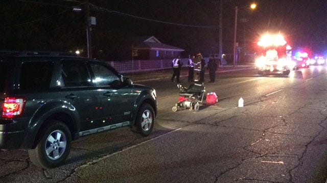 Woman Hit While Crossing Tulsa Street In Wheelchair Dies