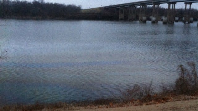 Large Fuel Spill Reported On Arkansas River In Muskogee County