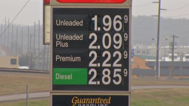 Diesel Prices Slowly Falling At Oklahoma Gas Stations